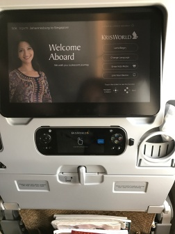 On-board Singapore Airlines